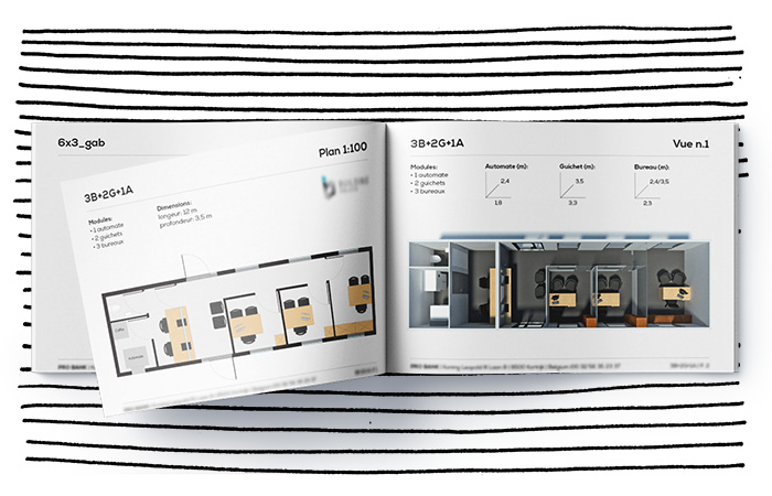 Catalogue and 3D modeling of prefabricated components